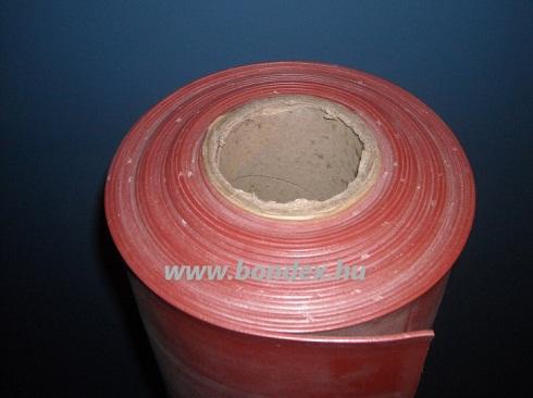 1200 mm-es hőálló vörös szilikon szalag lv.2 mm