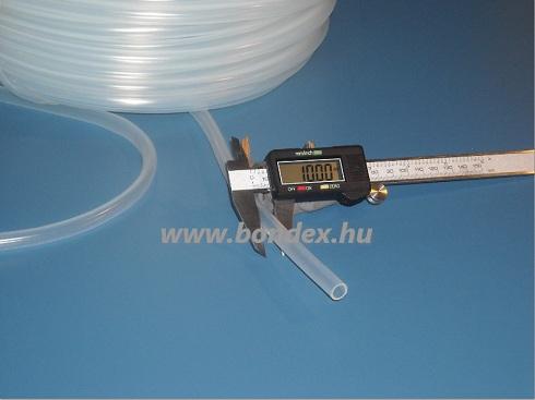 8x10 mm szilikon szigetelő cső