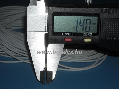 ø 1,0 x 1,4 mm szilikon szigetelő cső (izoláló cső)