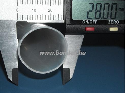 26 x 28 mm szilikon szigetelő - izoláló cső