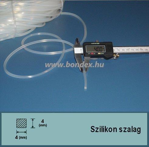 4x4 mm szilikon fóliahegesztő gép szalag