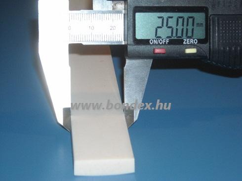 5x25 mm fóliahegesztő szilikon szalag