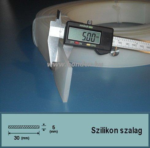 5x30 mm fóliahegesztő szilikon szalag