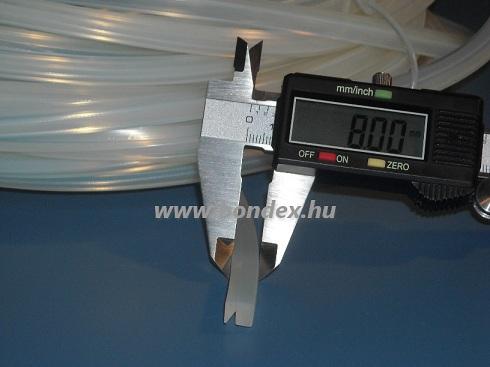 Hőálló fóliahegesztő gép szilikon profil