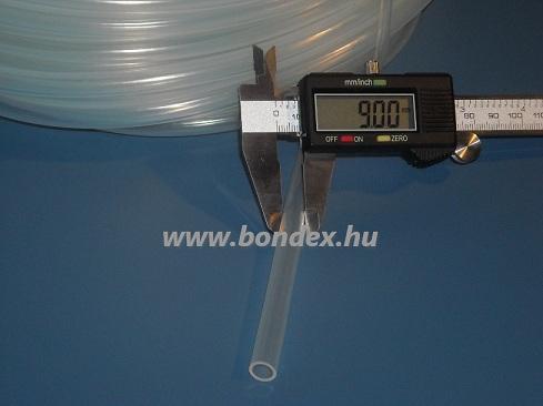 6x9 mm élelmiszeripari szilikon cső