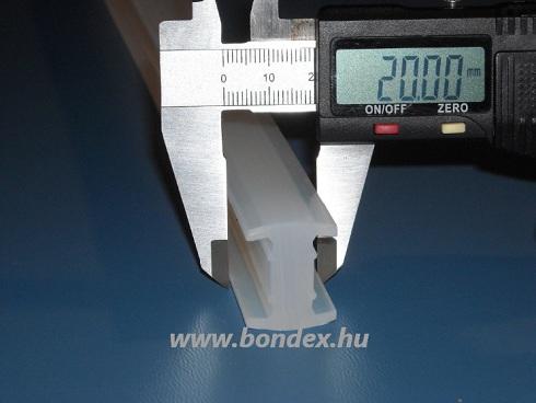 Szilikon H profil fóliahegesztő géphez