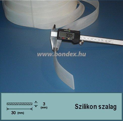 3x30 mm szilikon szalag fóliahegesztő géphez