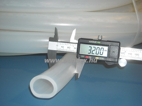26x32 mm gyógyszeripari szilikon cső