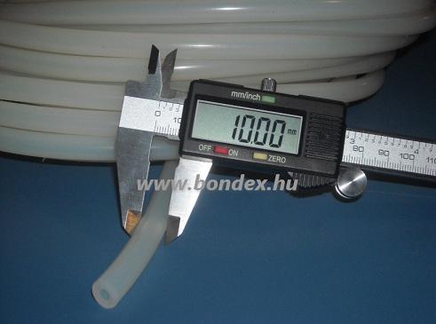 5x10 mm élelmiszeripari minőségű szilikon cső
