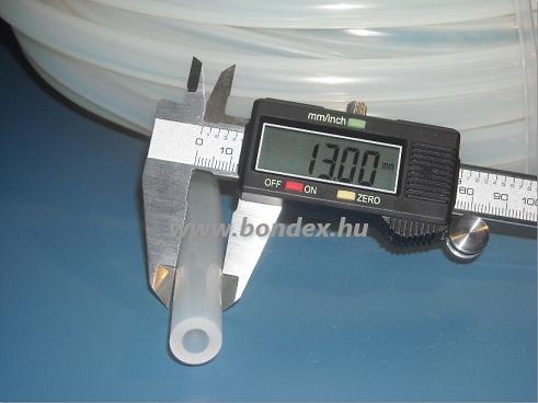 6x13 mm élelmiszeripari minőségű szilikon cső