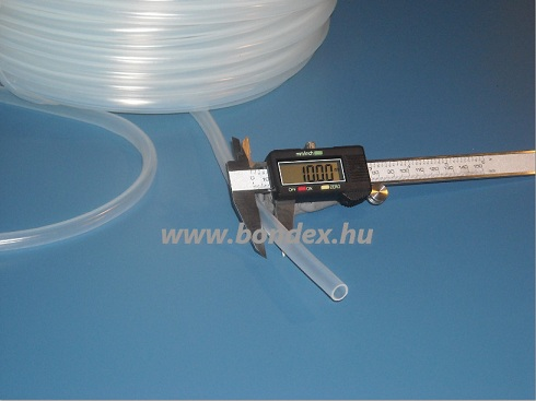 8x10 mm élelmiszeripari minőségű szilikon cső