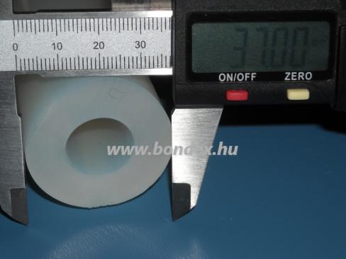 17x37 mm élelmiszeripari minőségű szilikon cső