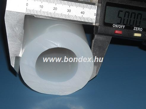 30x50 mm élelmiszeripari minőségű szilikon cső
