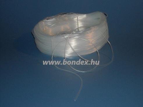 1x2 mm egészségügyi minőségű szilikon cső