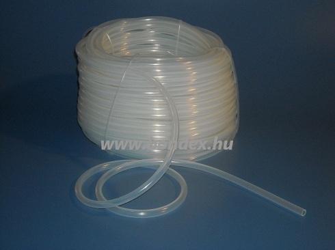 5,5x8,5 mm egészségügyi minőségű szilikon cső
