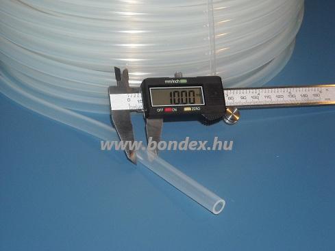 6x10 mm egészségügyi minőségű szilikon cső