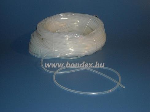 6,5x9,5 mm egészségügyi minőségű szilikon cső
