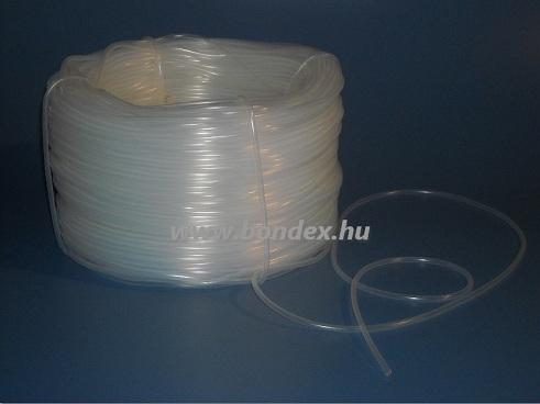 3x4 mm gyógyszeripari minőségű szilikon cső