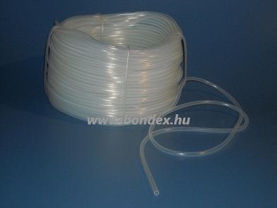 5x7 mm gyógyszeripari minőségű szilikon cső