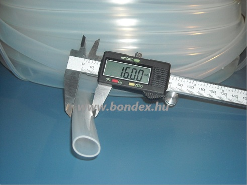 14x16 mm gyógyszeripari minőségű szilikon cső
