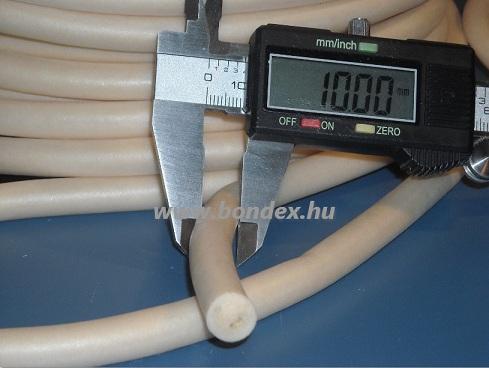 10 mm habosított szilikon zsinór