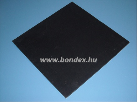 Fekete szilikon lemez (hőálló gumi lemez)