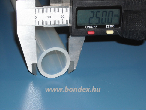 ø 22 x 25 mm szilikon cső