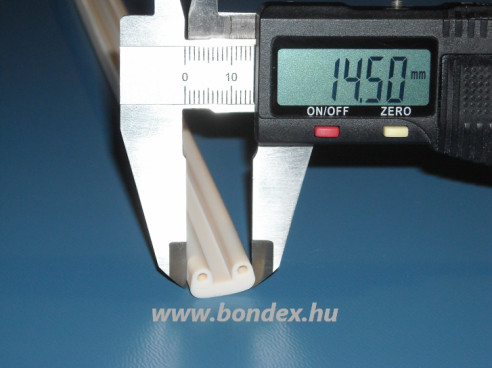 Duplafuratú szilikon profil ( hőálló anyagtovábbító szíj )