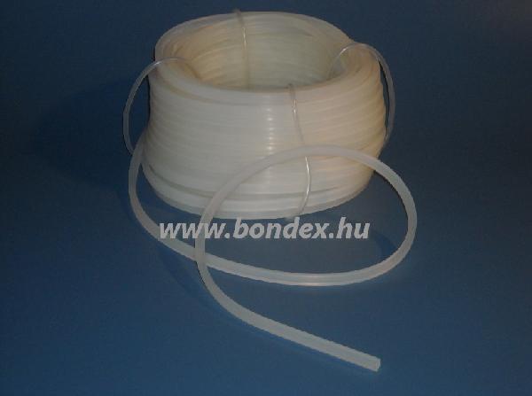 2x6 mm fóliahegesztő szilikon szalag
