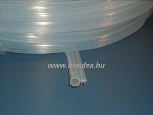 nyílászáró tömítés natúr transzparens (6 mm-es Hunstrip)