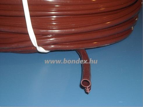 nyílászáró tömítés barna (10 mm-es Hunstrip)
