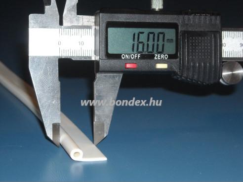Szilikon P profil nyílászáró tömítés (2,5X4,5 mm)
