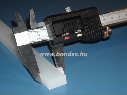 12x20 mm szilikon szalag
