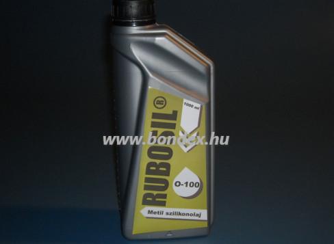 100-as viszkozitású Rubosil szilikon olaj  1 liter