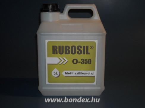 Rubosil M-350 szilikonolaj 5 liter
