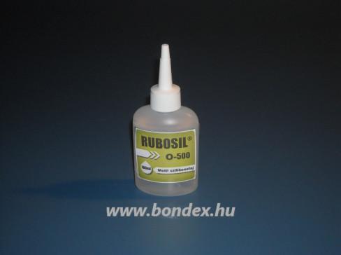 Szilikon olaj 500-as viszkozitással Rubosil 100ml