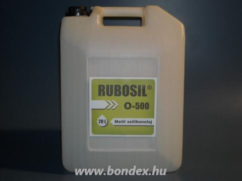 Szilikon olaj 500-as viszkozitással Rubosil 20 liter