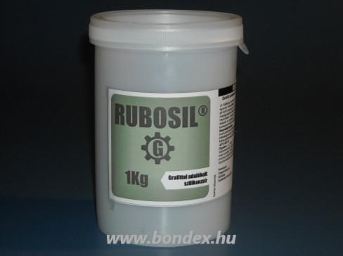Grafittal adalékolt szilikonzsír Rubosil 1 kg