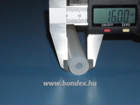 6x16 mm szilikon tömlő