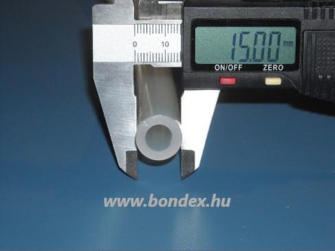 9x15 mm szilikon tömlő