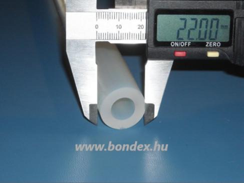 12x22 mm szilikon tömlő