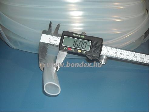 14x16 mm szilikon tömlő