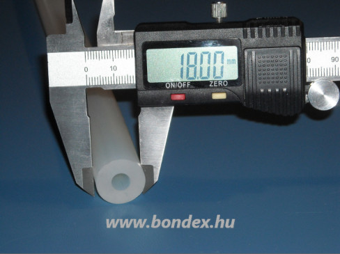 7x18 mm szilikon cső