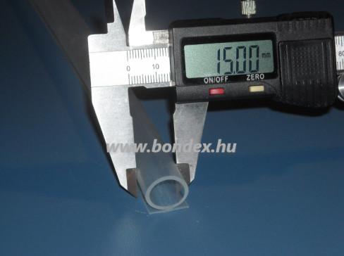 Nyílászaró tömítő omega profil 13X15 mm-es tömítő fejjel