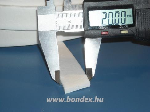 5 x 20 mm habosított szilikon szalag