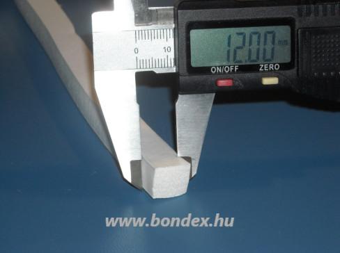 12 x 12 mm habosított szilikon szalag