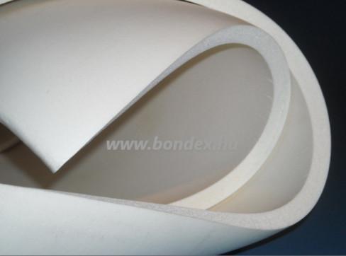 10 mm vastag 1000 mm széles habosított szilikon szalag