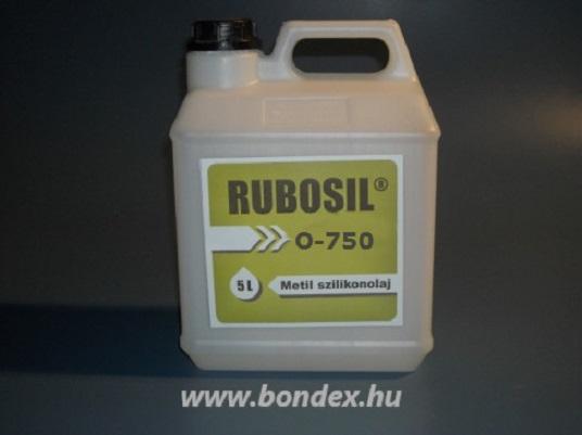 Szilikon olaj (750-es viszkozitású) 5 liter