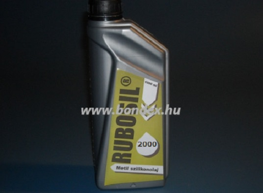 SZILIKON OLAJ 1 liter-es (2000-es viszkozitású)