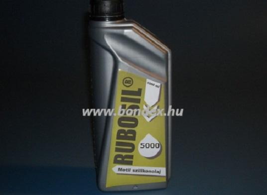 M5000 -es szilikon olaj 1 liter (Rubosil)